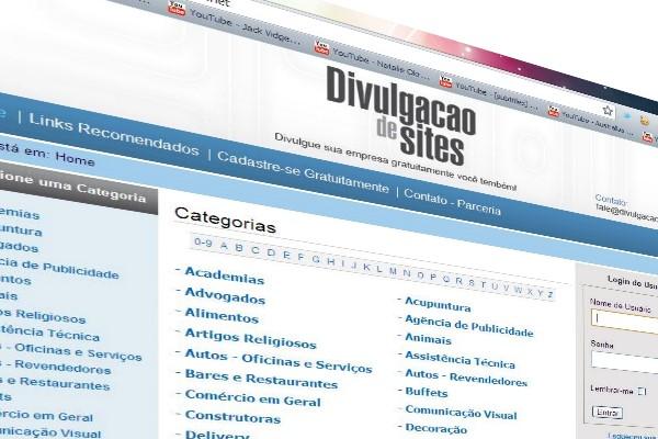 divulgacaodesites divulgação grátis de sites anúncios grátis anuncie gratuitamente leonardo santos artware arisitides