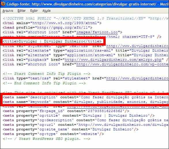 wordpress seo yoast plugin codigo fonte categorias