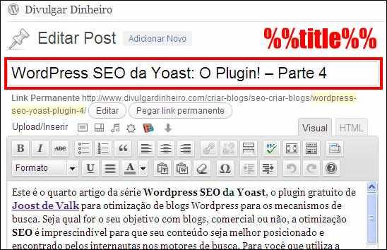 wordpress seo yoast plugin editor post