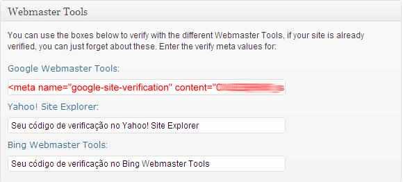 wordpress seo yoast plugin webmasters tools ferramentas
