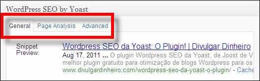 guias geral análise avançado plugin wordpress seo yoast