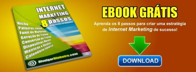 Ebook Grátis | Internet Marketing em 8 Passos