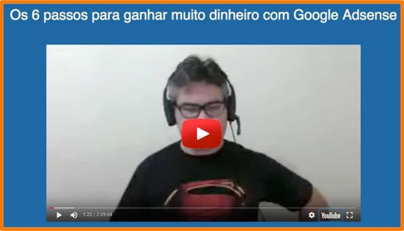 Gustavo Freitas e Google Adsense