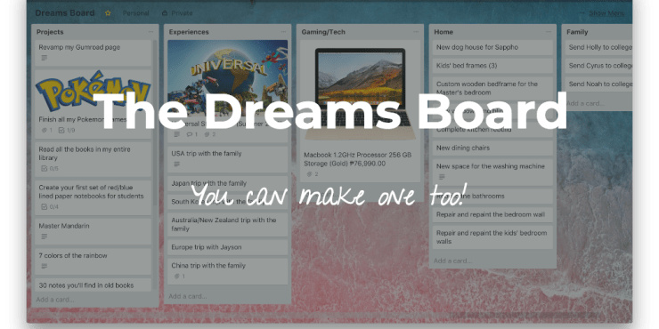 The Power of the Dreams Board