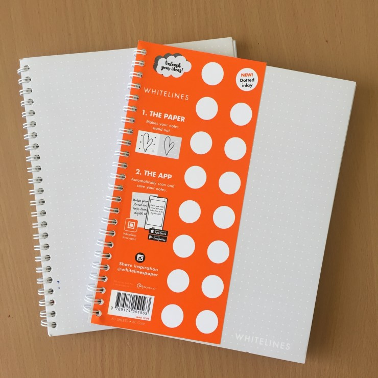 Whitelines Link Softwire Dot Notebook