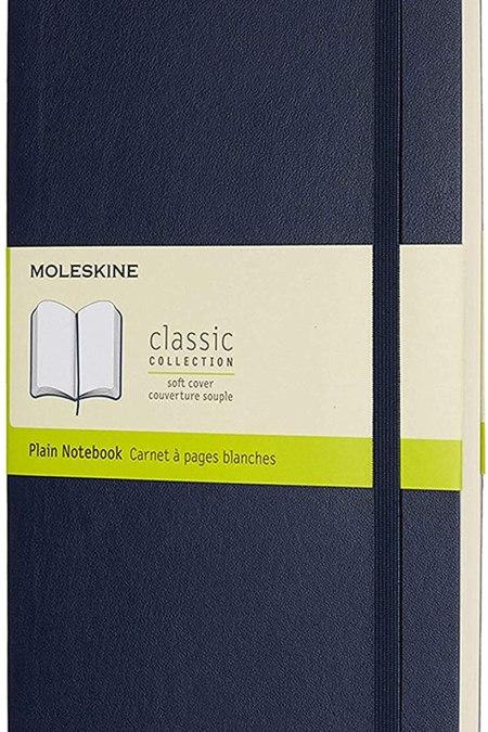 Blue Soft Notebook LG Plain