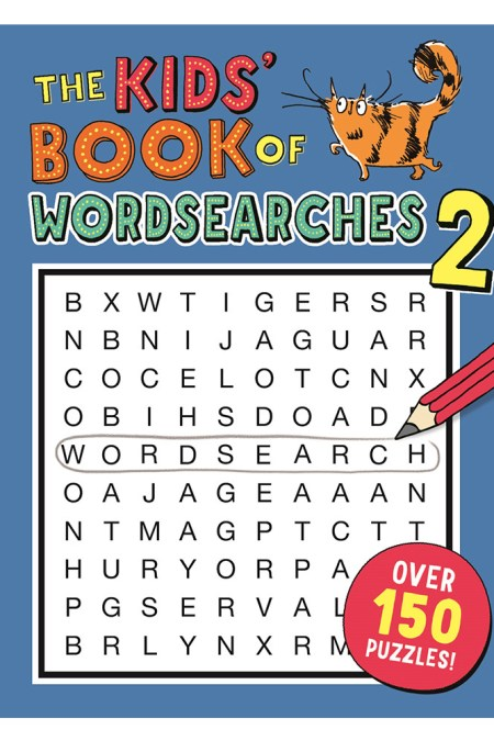 Kids' Book of Wordsearches 2 (Buster Puzzle Books)