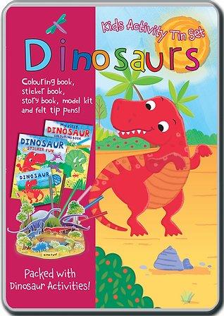 Dinosaur - Kids Activity Tin Set