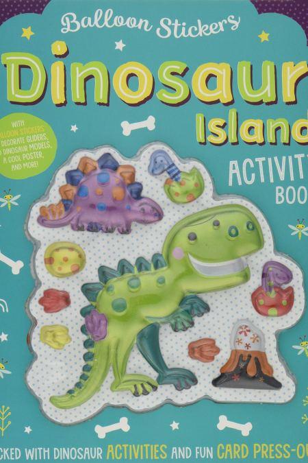 Balloon Sticker Activity Books - Dinosaur Island