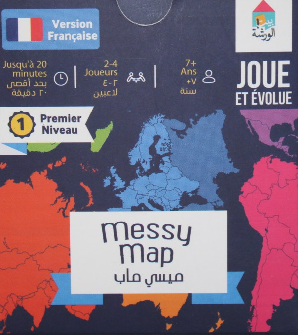 Messy Map Arabic - French