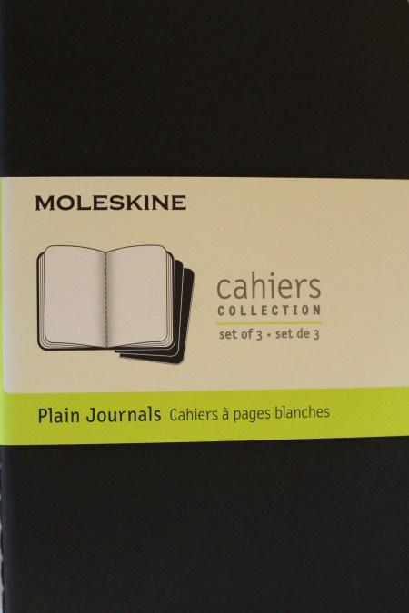 Pocket Plain Cahier Black set