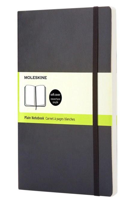 Large Plain Soft Notebook