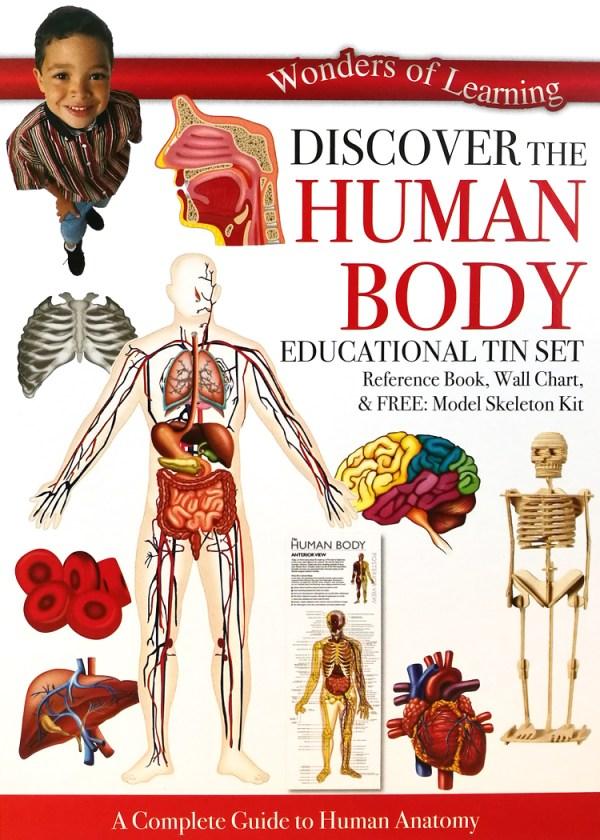 Discover the Human Body Educational Tin Set
