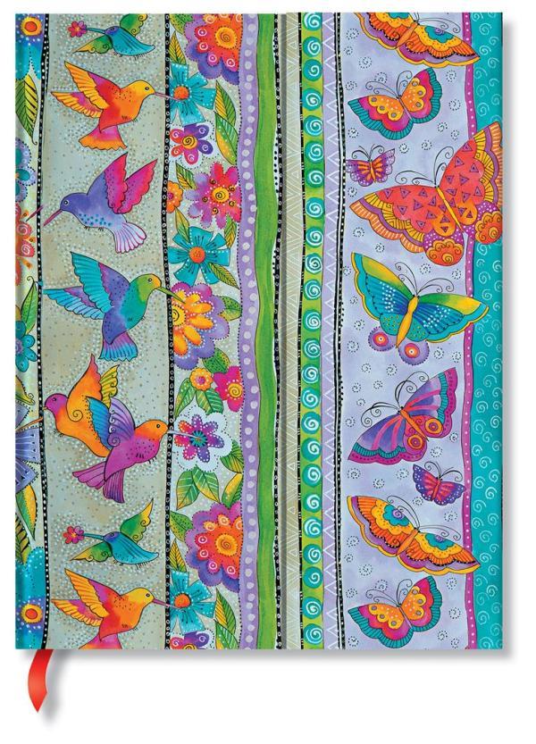 Ultra Hummingbirds & Flutterbyes lined Notebook