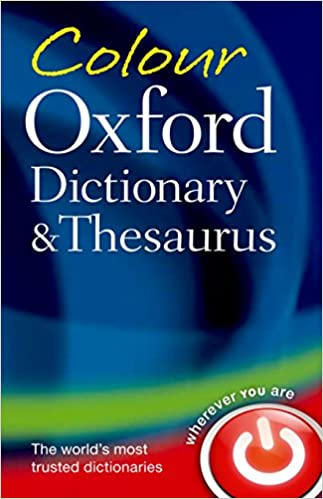 Colour Oxford Dictionary and T