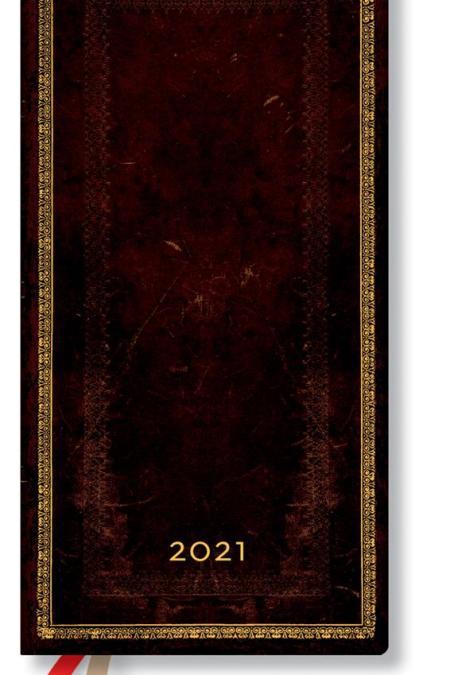 2021 Black Moroccan Slim Horizontal