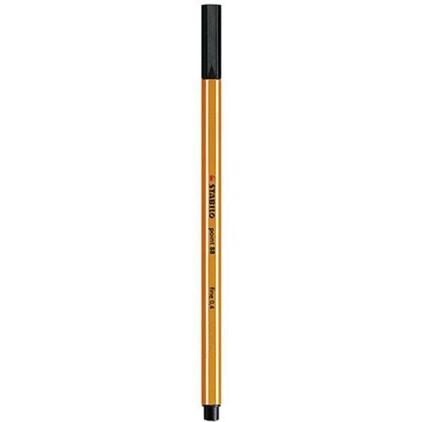 Stabilo Point 88 Black pen 88/