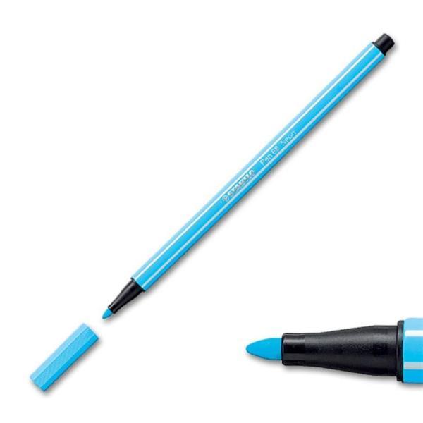 Stabilo Fluorescent Blue pen 6