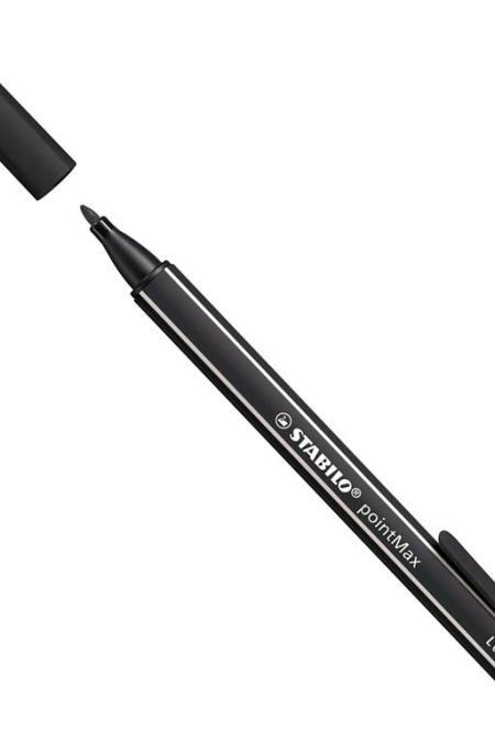 Stabilo Black PointMax pen- 48