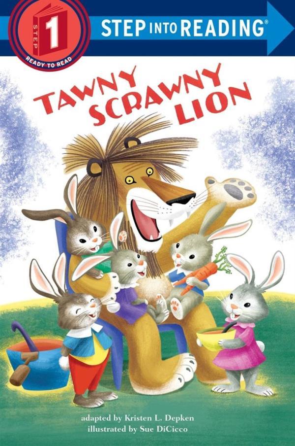 Tawny Scrawny Lion Step Into R