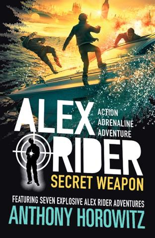 Alex Ride Secret Weapon