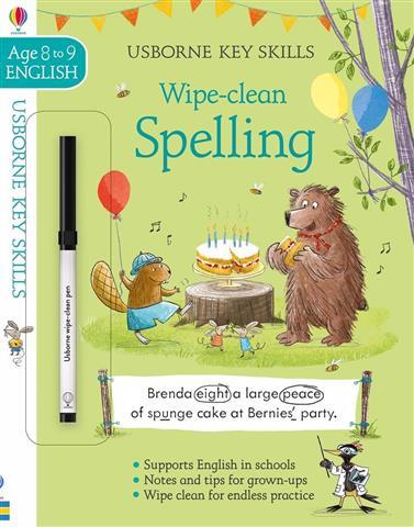 Key Skills Wipe Clean Spelling