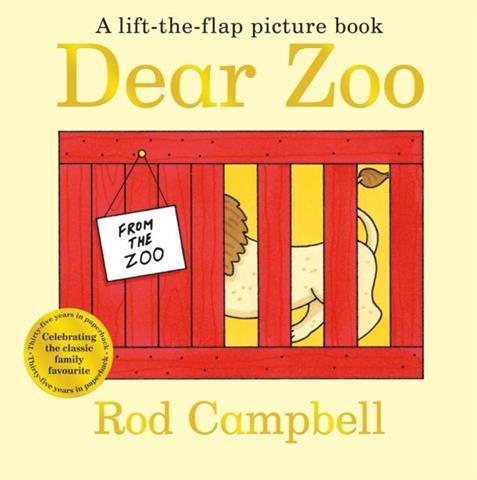 Dear Zoo Lift the Flap Pictur