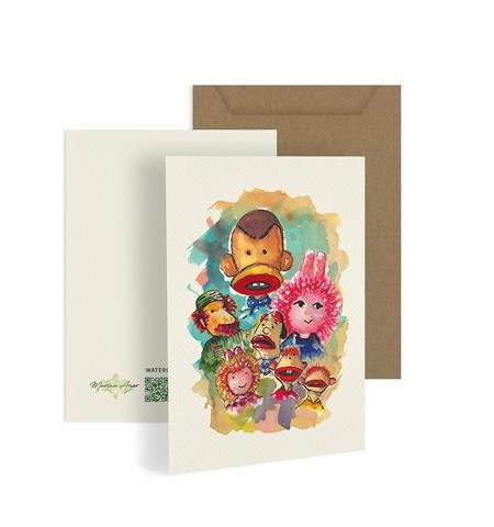 Bogy's Family Greeting Card