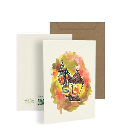 Fawanees Greeting Card