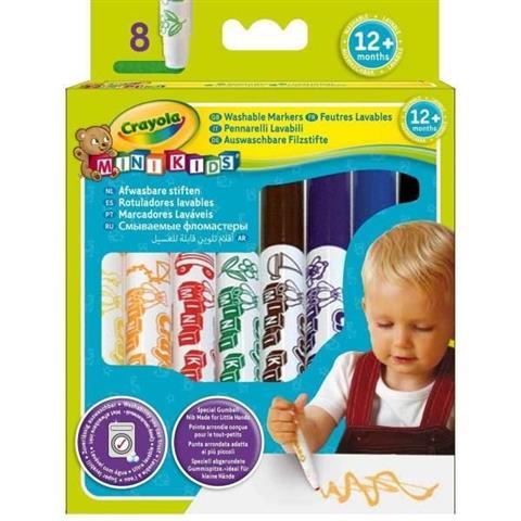 Crayola 8 Mini Kids First Mark
