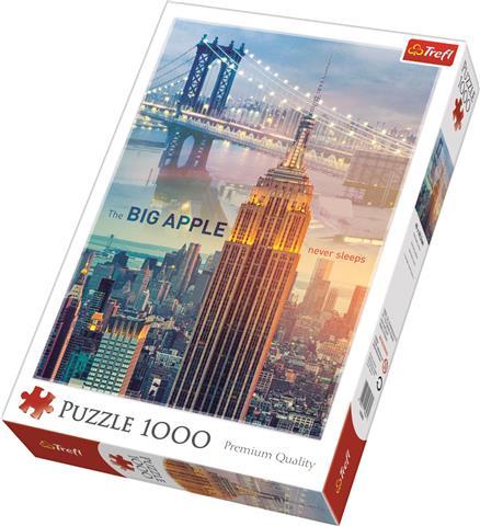 New York At Dawn Trefl Puzzle