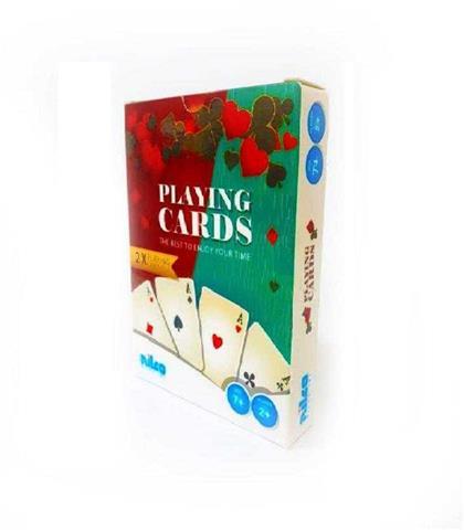 Nilco Playing Cards 2 Packs كوتشينة 2 في علبة