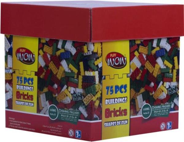 Wow Play 75 Pce Bricks Box