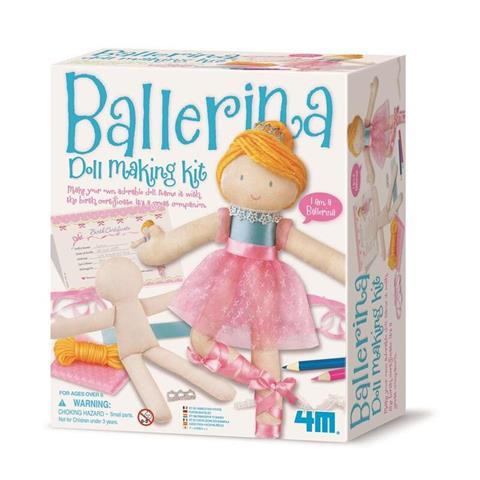 Ballerina Easy-To-Do Doll Making Kit (2731)