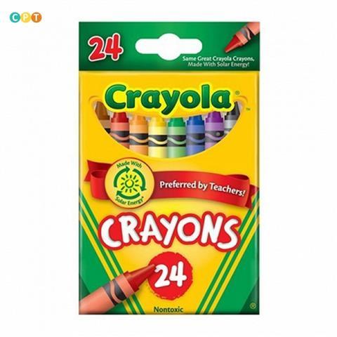 Crayola 24 Wax Crayons (0024)