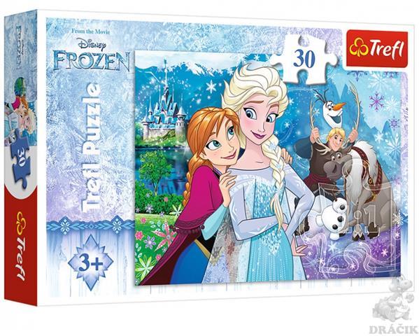 Frozen Trefl Puzzle Size 30 200x270(18225)