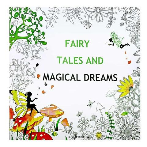 Fairy Tales and Magical Dreams Colouring Book PMX-012