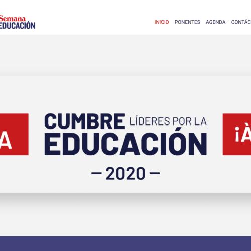 Cumbre Líderes por la Educación