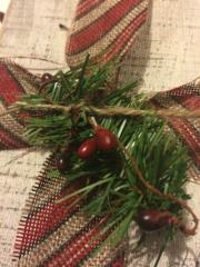 Ristic Christmas Pine and Berries