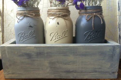 How to build a mason jar box