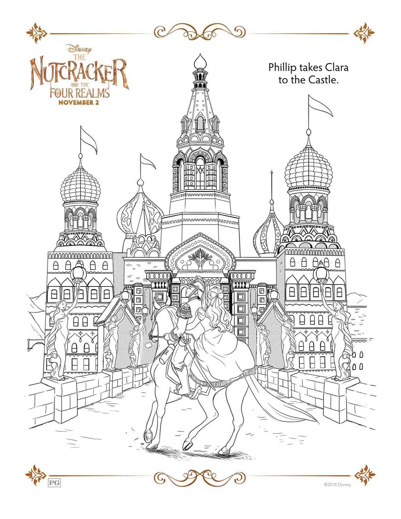 The Nutcracker And The Four Realms Free Printable