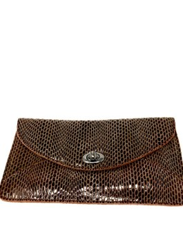bfd30e595 Chocolate Coco Clutch with Shoulder Chain by Sorial ...