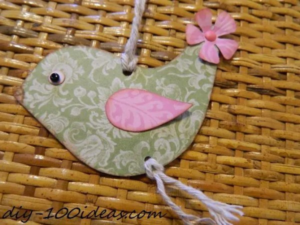 How to Make a Paper Bird (3)