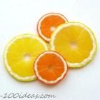Polymer Clay Lemon Slice
