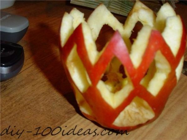 Apple Candle Tutorial (2)