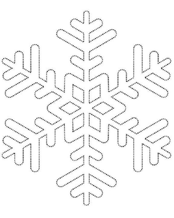 Snowflake stencil (11)
