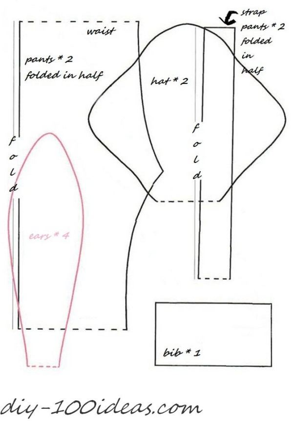 free sewing pattern tilda bunny (3)
