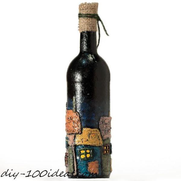 DIY wine bottle decor (8)