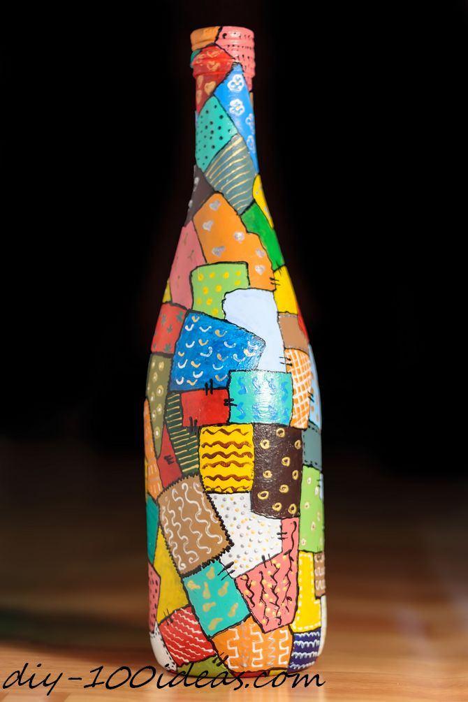 6 Wine Bottle Decoration Ideas DIY 100 Ideas