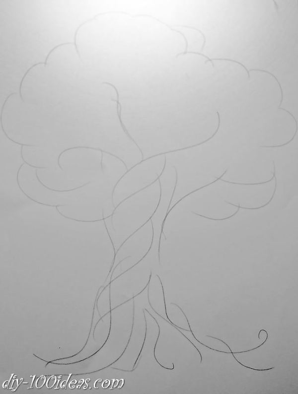 diy money tree (3)